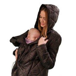 Geaca Babywearing Elna Negru